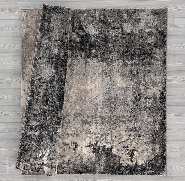 Grey (403-10272) Abstract Area Rug