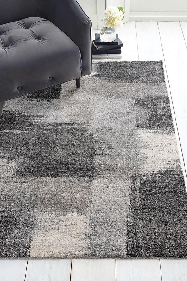 Grey (403-10372) Contemporary / Modern Area Rug