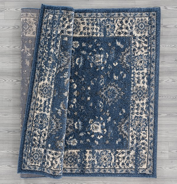 Midnight Blue (403-10661) Traditional / Oriental Area Rug