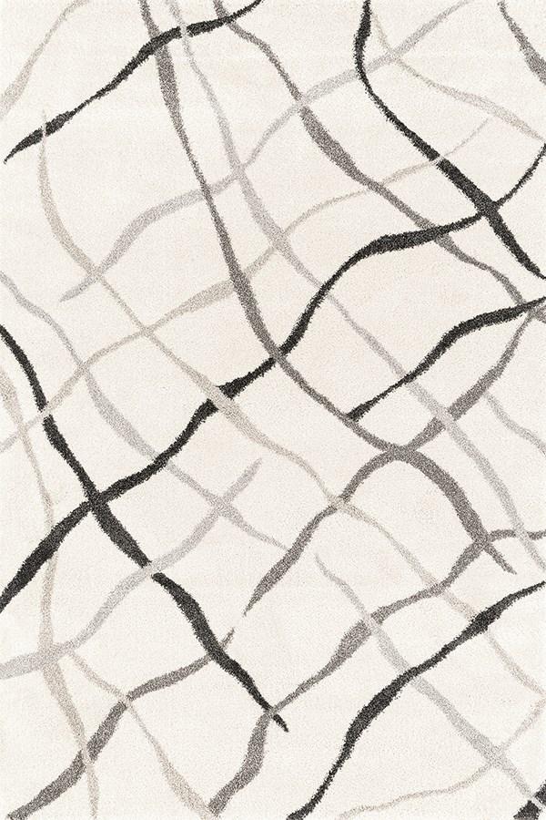 Cream (403-10790) Contemporary / Modern Area Rug