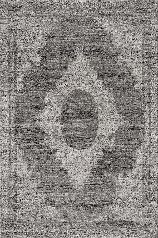 Grey (403-10872) Traditional / Oriental Area Rug