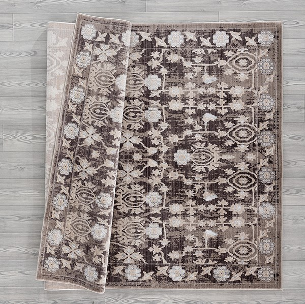Taupe (1805-41094) Traditional / Oriental Area Rug