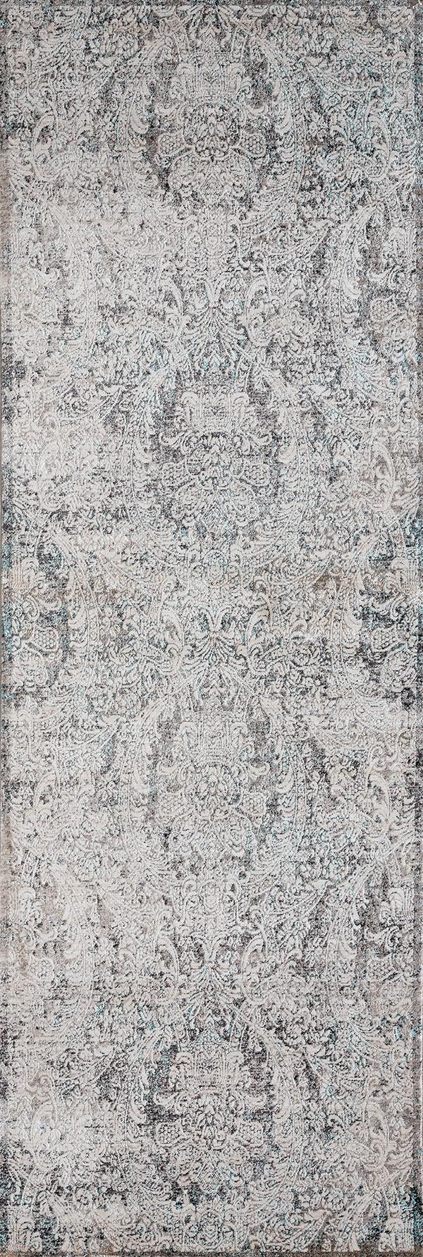 Turquoise (1805-40169) Vintage / Overdyed Area Rug