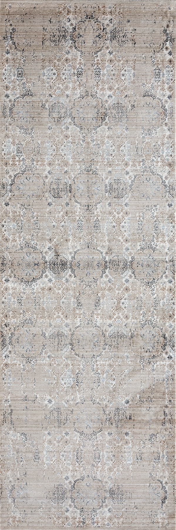 Light Taupe (1805-40293) Vintage / Overdyed Area Rug