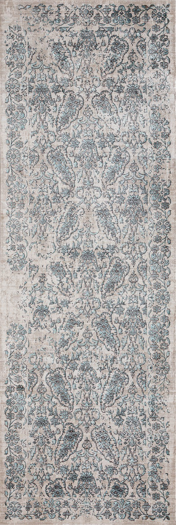 Turquoise (1805-40569) Traditional / Oriental Area Rug