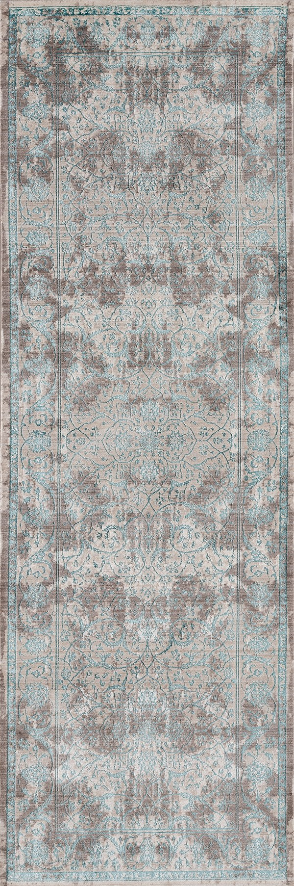 Turquoise (1805-40669) Vintage / Overdyed Area Rug