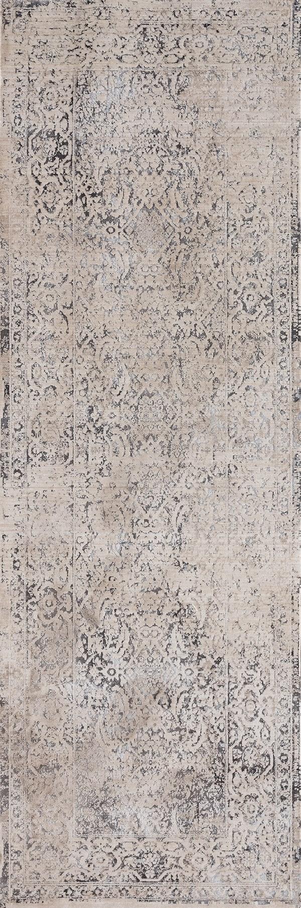 Bone (1805-40901) Vintage / Overdyed Area Rug