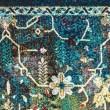 Product Image of Burgundy, Teal (1831-30375) Bohemian Area Rug