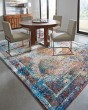 Product Image of Grey, Light Blue (1831-30775) Vintage / Overdyed Area Rug