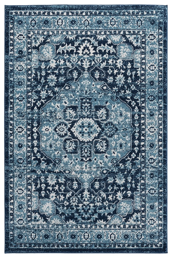 Navy (1815-30464) Traditional / Oriental Area Rug
