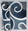 Product Image of Navy (2050-10364) Contemporary / Modern Area Rug