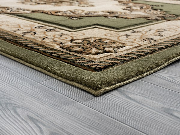 Green (2050-10545) Traditional / Oriental Area Rug