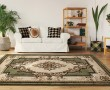 Product Image of Green (2050-10545) Traditional / Oriental Area Rug