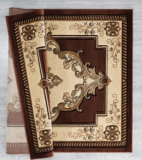 Chocolate (2050-10551) Traditional / Oriental Area Rug