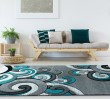 Product Image of Turquoise (2050-11369) Children's / Kids Area Rug