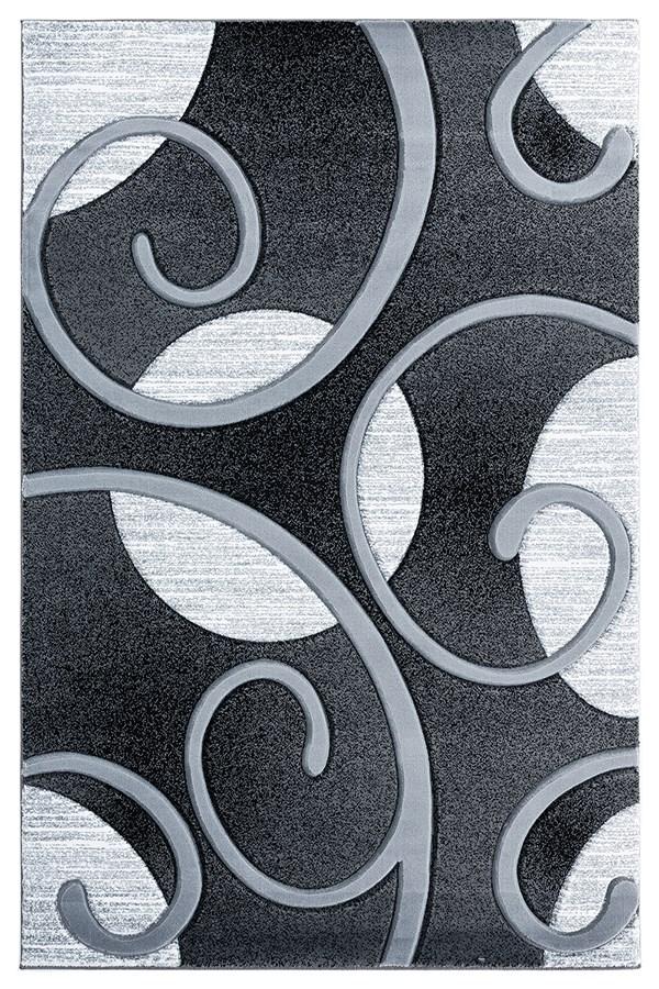 Grey (2050-10372) Contemporary / Modern Area Rug