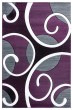 Product Image of Contemporary / Modern Plum (2050-10382) Area Rug