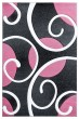 Product Image of Contemporary / Modern Pink (2050-10386) Area Rug