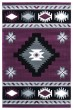 Product Image of Southwestern / Lodge Plum (2050-10482) Area Rug