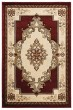 Product Image of Traditional / Oriental Burgundy (2050-10534) Area Rug