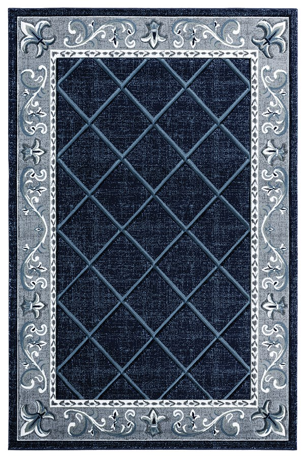 Navy (2050-10964) Traditional / Oriental Area Rug