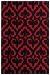 Product Image of Red (2050-11430) Geometric Area Rug