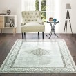 Product Image of Silver (853-10471) Bordered Area Rug