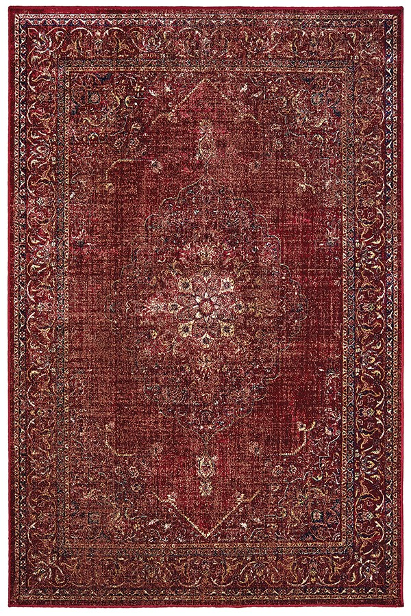 Red (853-10230) Traditional / Oriental Area Rug