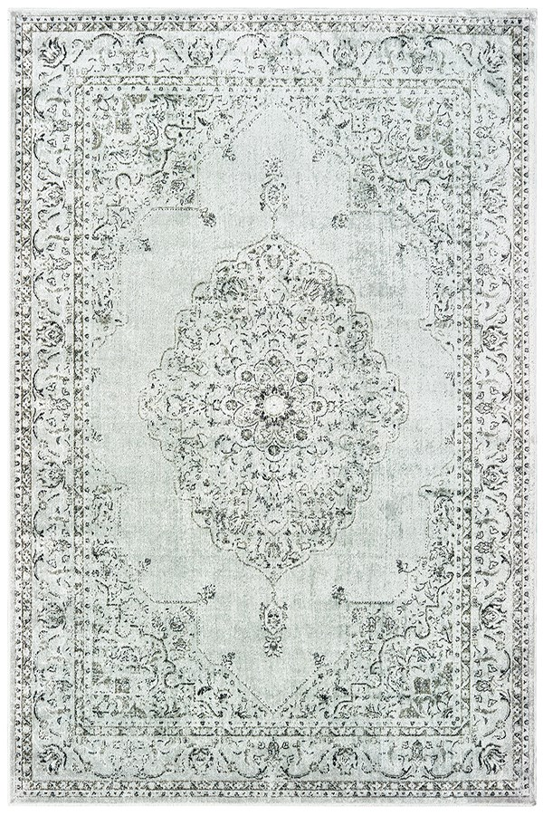 Silver (853-10271) Traditional / Oriental Area Rug