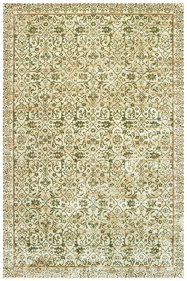 Green (853-10345) Traditional / Oriental Area Rug