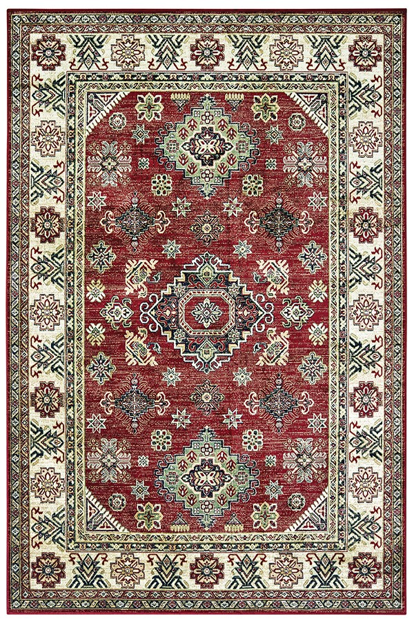 Red (853-10730) Traditional / Oriental Area Rug
