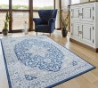 Product Image of Denim Blue (4000-40161) Traditional / Oriental Area Rug