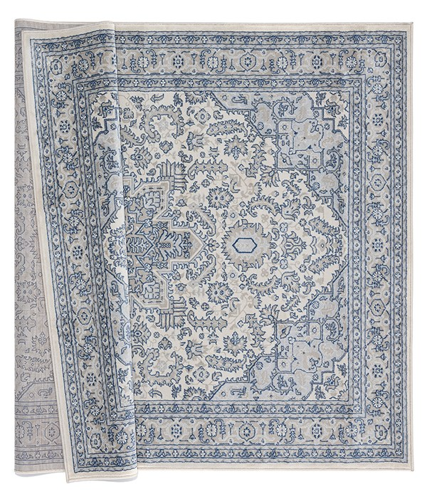 Cream (4000-40190) Traditional / Oriental Area Rug