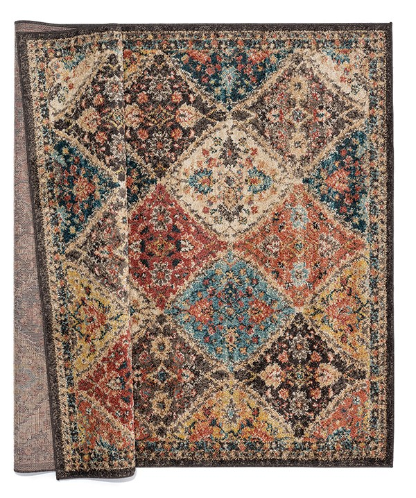 Charcoal (3801-30475) Traditional / Oriental Area Rug