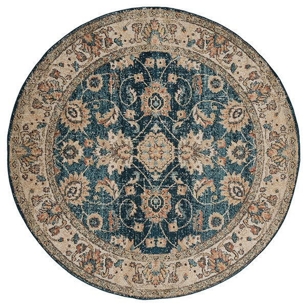 Cerulean (3801-30262) Traditional / Oriental Area Rug