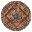 Product Image of Brick (3801-30533) Traditional / Oriental Area Rug