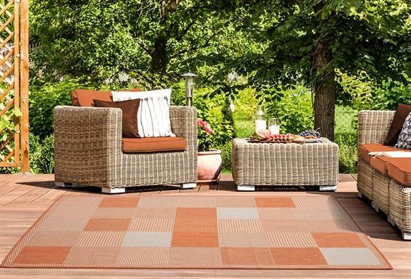 Terracotta (3900-10729) Outdoor / Indoor Area Rug