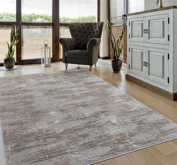 Wheat (10991) Contemporary / Modern Area Rug