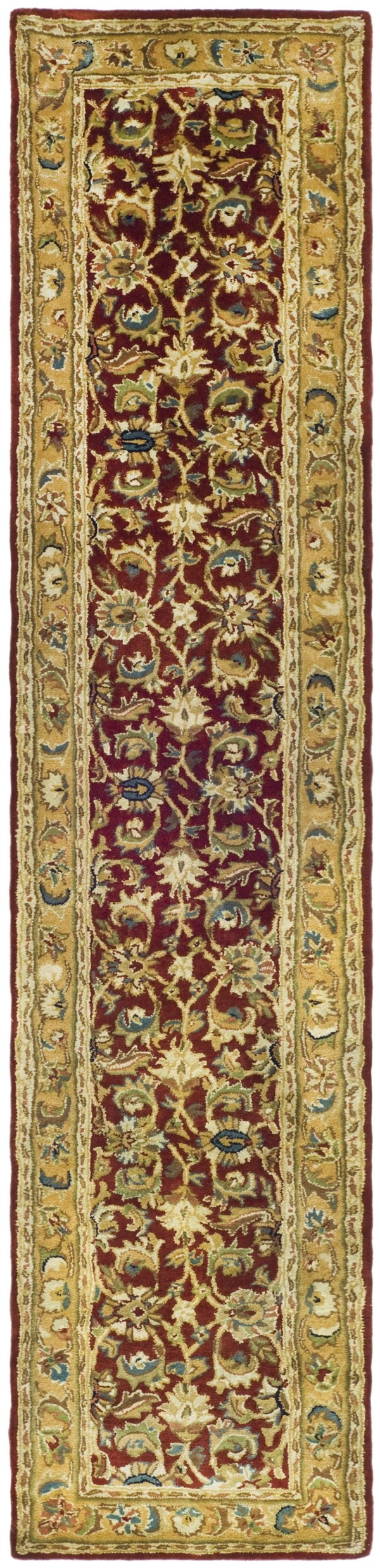 Rust, Camel (K) Traditional / Oriental Area Rug