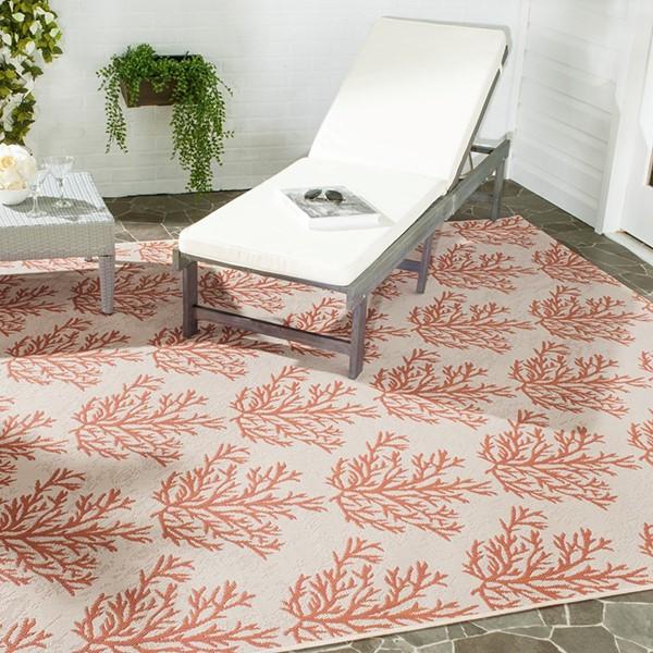 Beige, Terracotta (231) Outdoor / Indoor Area Rug