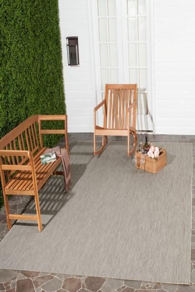 Beige, Beige (36311) Outdoor / Indoor Area Rug