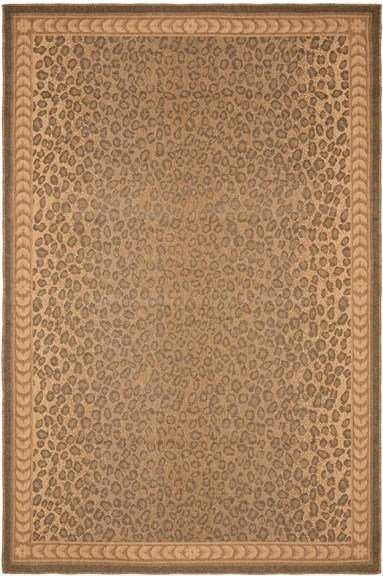 Natural, Gold (39) Animals / Animal Skins Area Rug