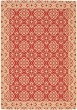 Product Image of Traditional / Oriental Red, Creme (28) Area Rug