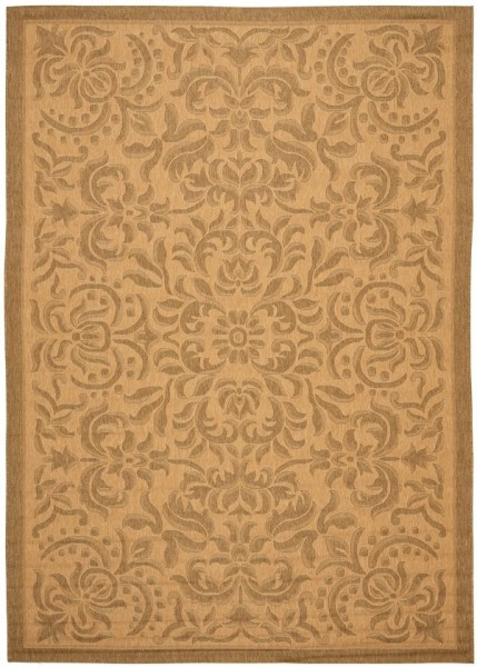 Natural, Gold (39) Traditional / Oriental Area Rug