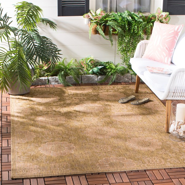 Gold, Natural (49) Moroccan Area Rug