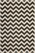 Product Image of Chevron Black, Beige (256) Area Rug
