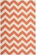 Product Image of Chevron Terracotta, Beige (241) Area Rug