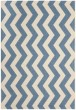 Product Image of Chevron Blue, Beige (243) Area Rug