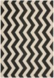 Product Image of Chevron Black, Beige (256) Area Rug