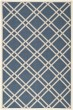 Product Image of Geometric Navy, Beige (268) Area Rug